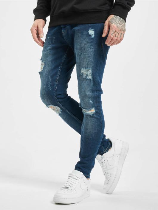 2Y Skinny Jeans Zerrin modrý