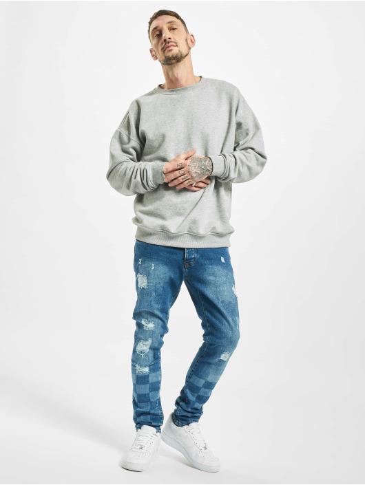 2Y Skinny Jeans Levin niebieski