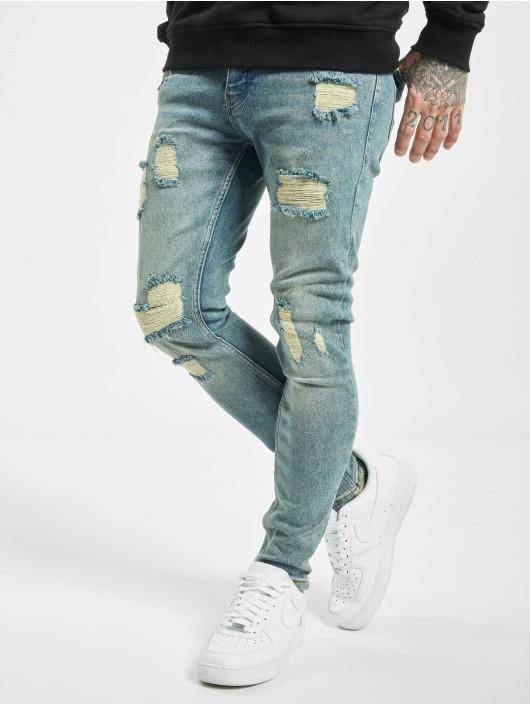 2Y Skinny Jeans Umit niebieski
