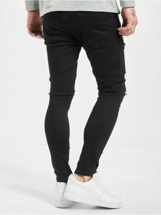 2Y Skinny Jeans Tezzy Skinny Fit schwarz
