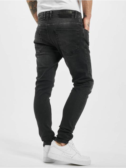 2Y Skinny Jeans Fex schwarz