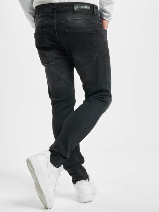 2Y Skinny Jeans Jenna schwarz