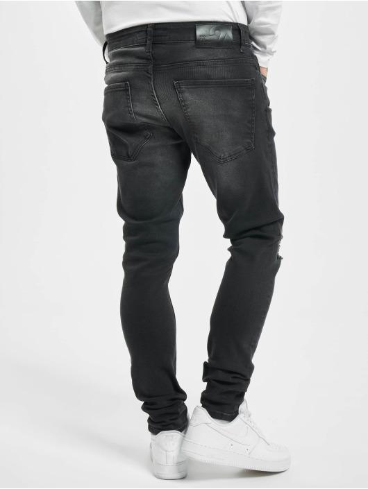 2Y Skinny Jeans Reyna schwarz