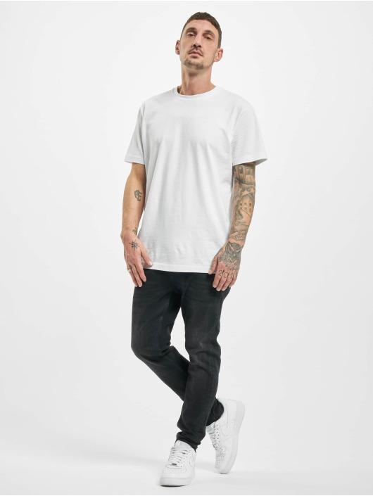 2Y Skinny Jeans Pablo schwarz