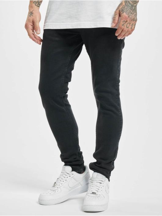 2Y Skinny Jeans Luis schwarz