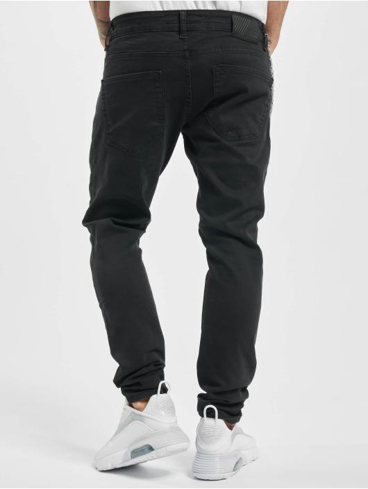 2Y Skinny Jeans Tobi schwarz