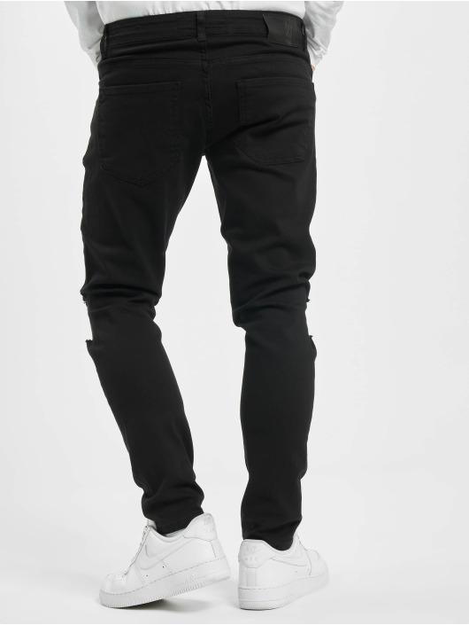 2Y Skinny jeans Jeffrey zwart