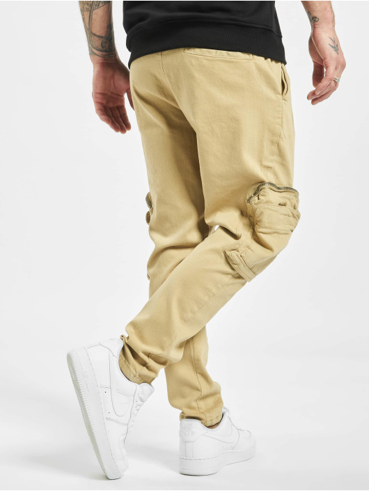 2Y Slim Fit -farkut Metin beige