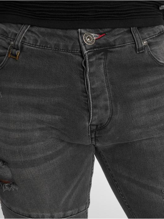 2Y Slim Fit -farkut Liso harmaa