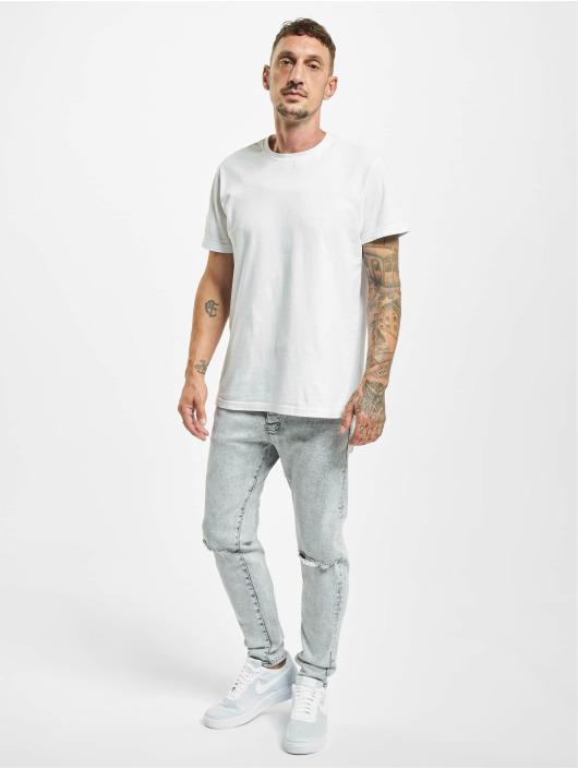2Y Slim Fit -farkut Birol harmaa