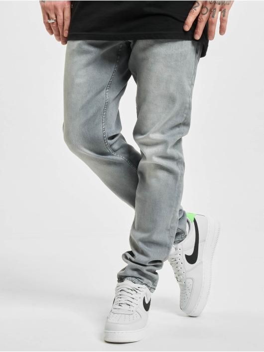 2Y Slim Fit -farkut Slim harmaa