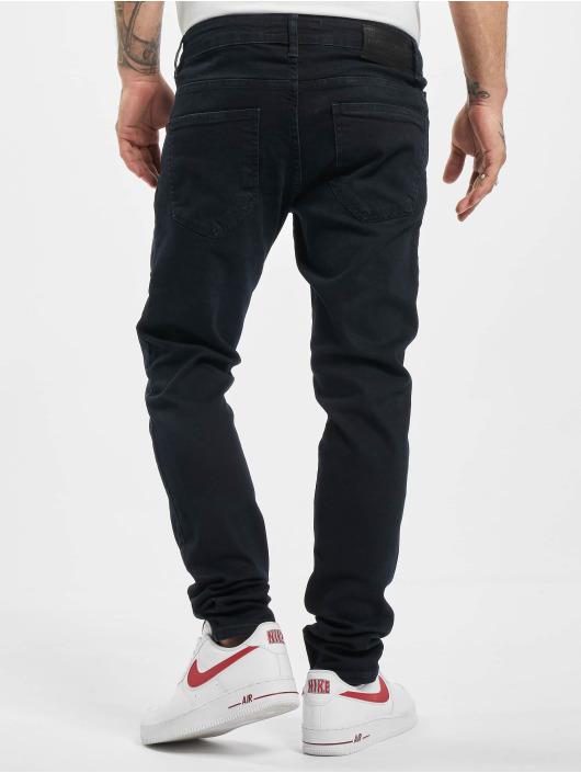 2Y Slim Fit -farkut Leon musta