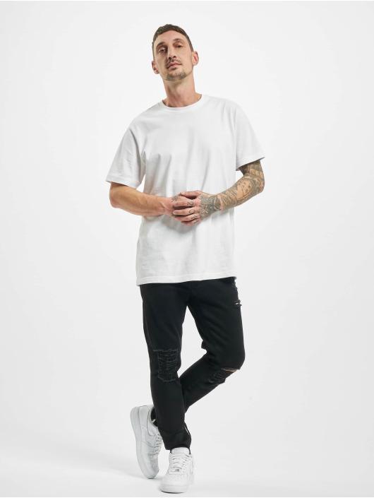 2Y Slim Fit -farkut Bert musta