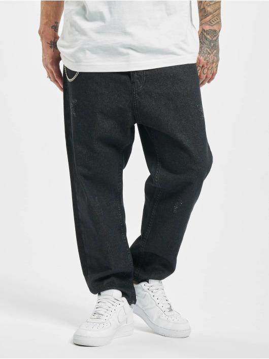 2Y Slim Fit -farkut Fred musta