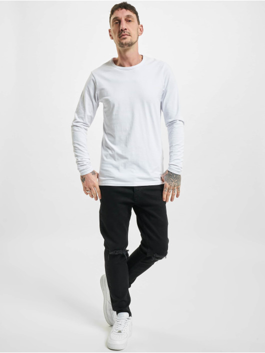 2Y Slim Fit -farkut Levin musta