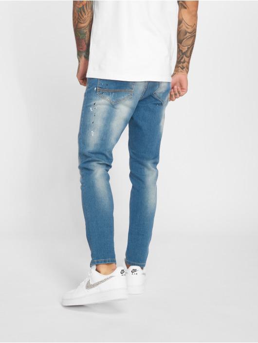 2Y Slim Fit -farkut Carlo sininen