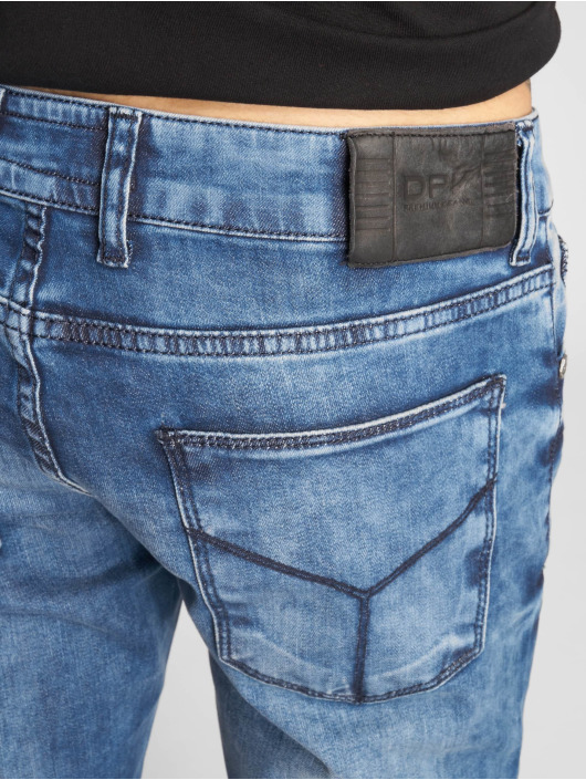 2Y Slim Fit -farkut Stone Washed sininen