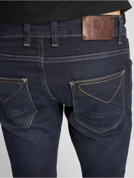 2Y Slim Fit -farkut Bennet sininen