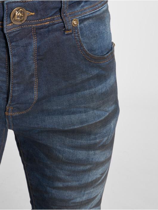 2Y Slim Fit -farkut Dirt sininen