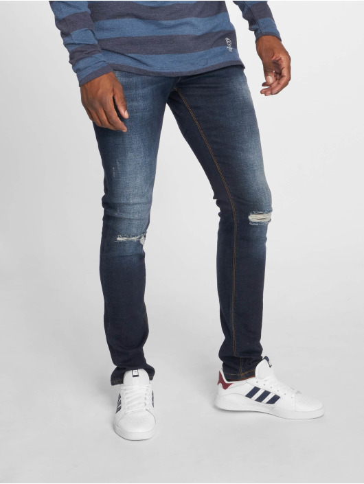 2Y Slim Fit -farkut Premium sininen