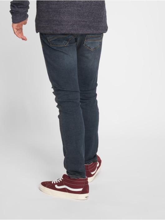 2Y Slim Fit -farkut Seppo sininen