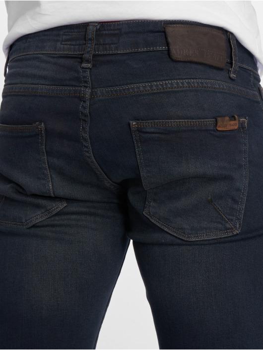 2Y Slim Fit -farkut Spirou sininen