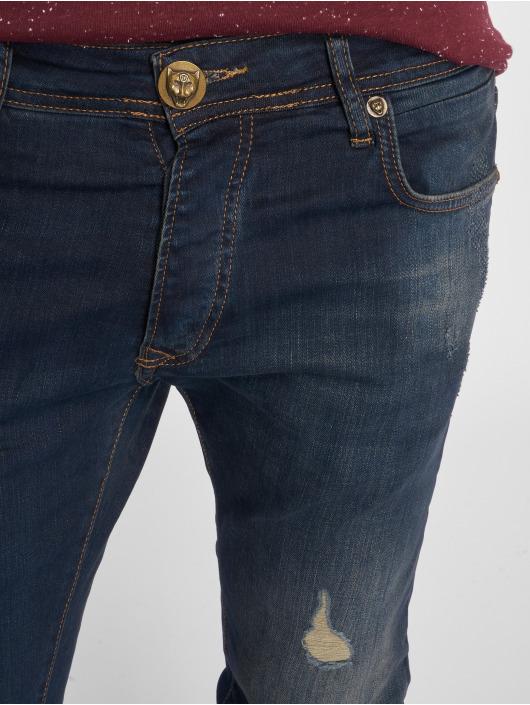 2Y Slim Fit -farkut Lion sininen