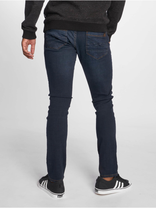 2Y Slim Fit -farkut Jon sininen