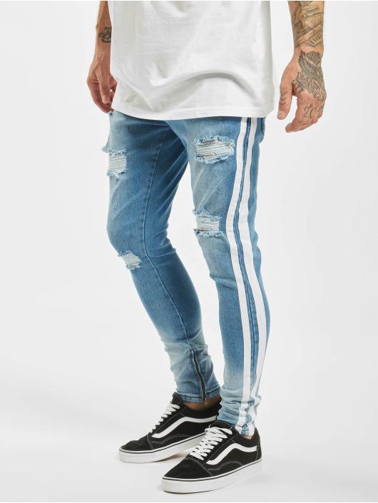 2Y Slim Fit -farkut Moritz sininen