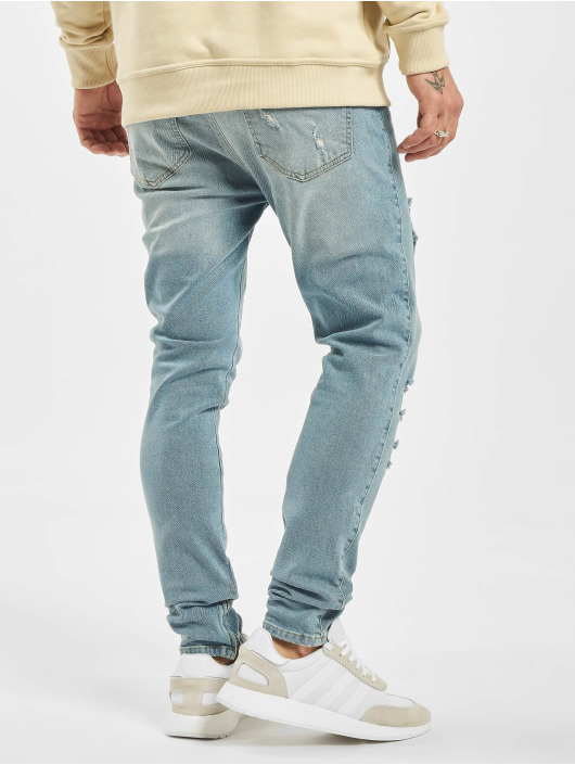 2Y Slim Fit -farkut Diego sininen