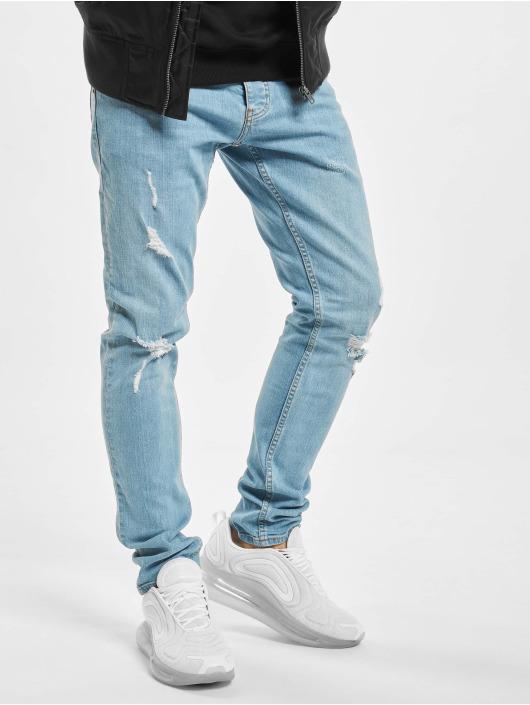 2Y Slim Fit -farkut Yven sininen