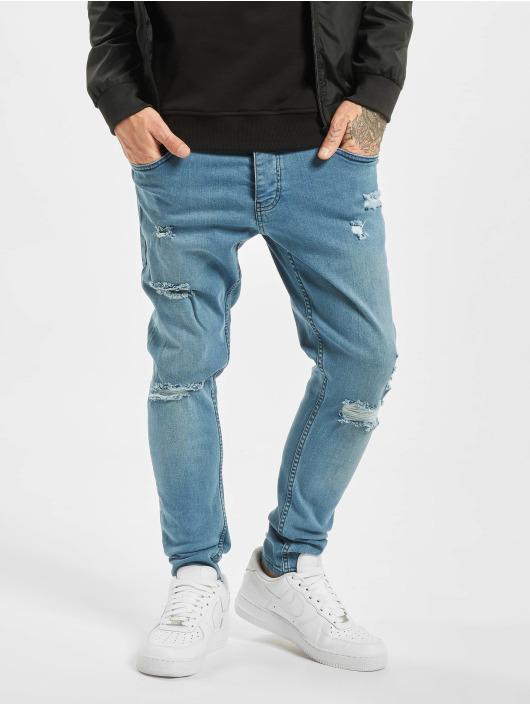 2Y Slim Fit -farkut Malte sininen