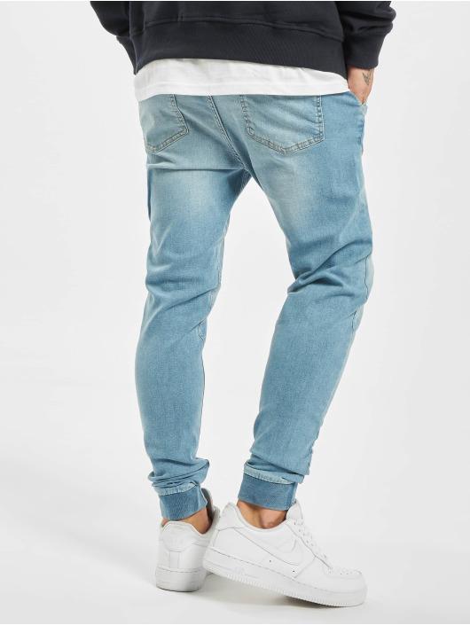 2Y Slim Fit -farkut Milan sininen