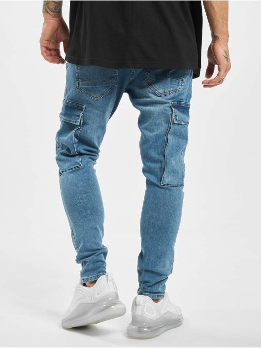 2Y Slim Fit -farkut Yasin sininen