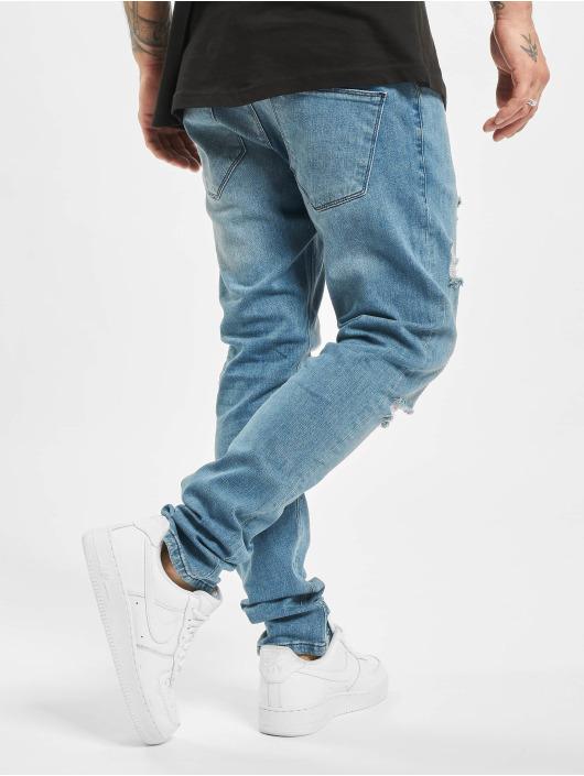 2Y Slim Fit -farkut Maxim sininen