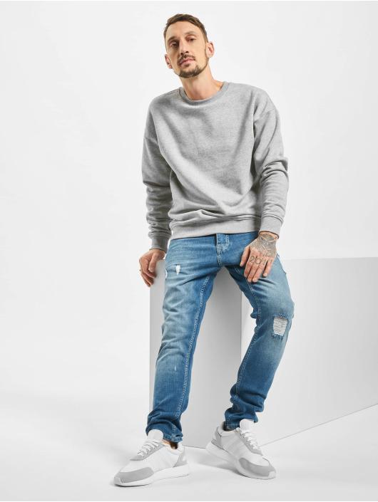 2Y Slim Fit -farkut Hannes sininen