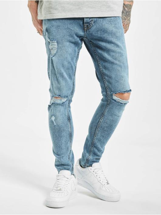 2Y Slim Fit -farkut Alkim sininen