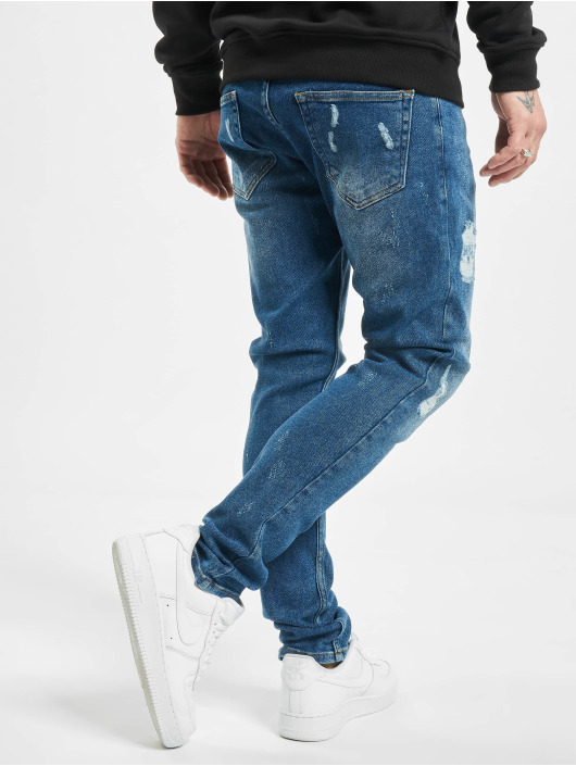 2Y Slim Fit -farkut Hawa sininen
