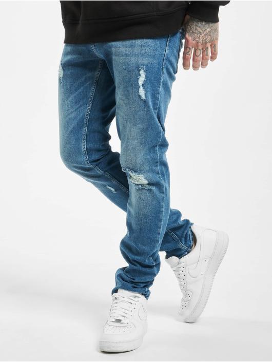 2Y Slim Fit -farkut Arak sininen