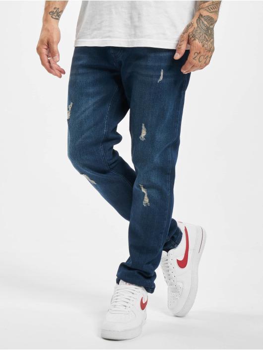 2Y Slim Fit -farkut Sergio sininen