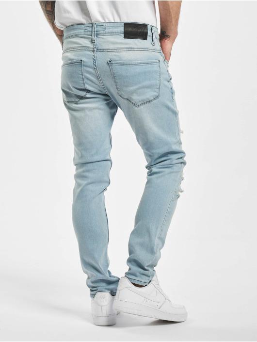 2Y Slim Fit -farkut Raul sininen
