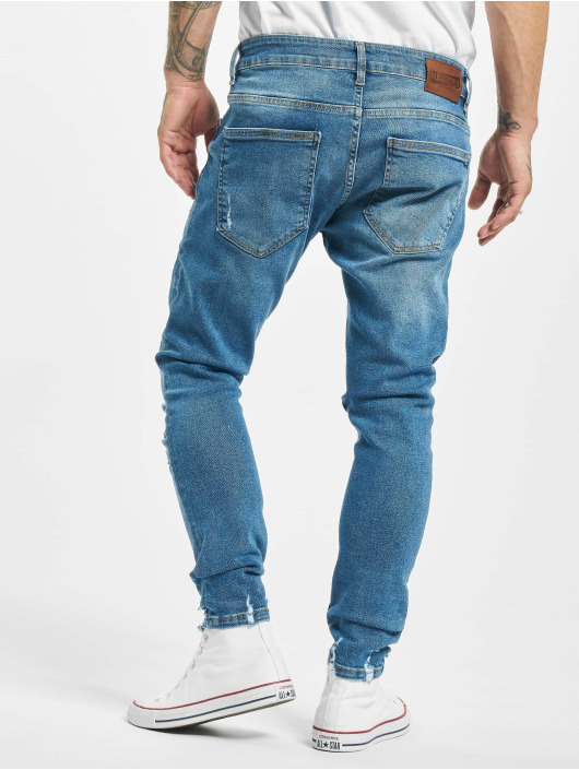 2Y Slim Fit -farkut Mesut sininen