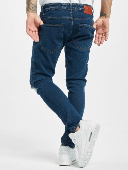 2Y Slim Fit -farkut Adan sininen