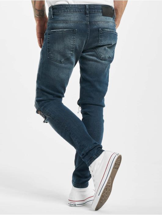 2Y Slim Fit -farkut Asil sininen