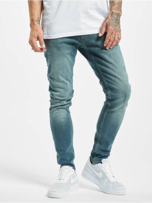 2Y Slim Fit -farkut Davut sininen