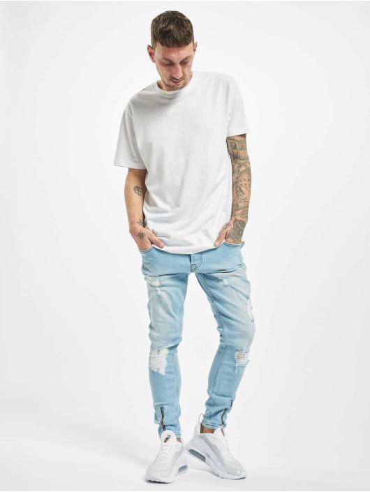 2Y Slim Fit -farkut Anton sininen