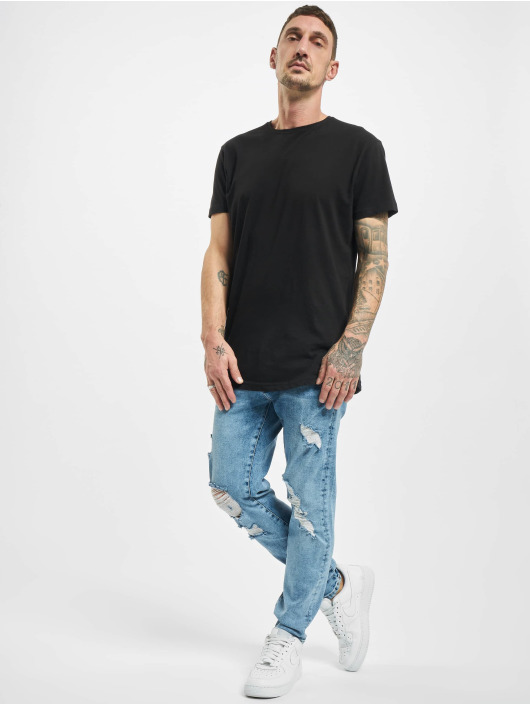 2Y Slim Fit -farkut Dave sininen