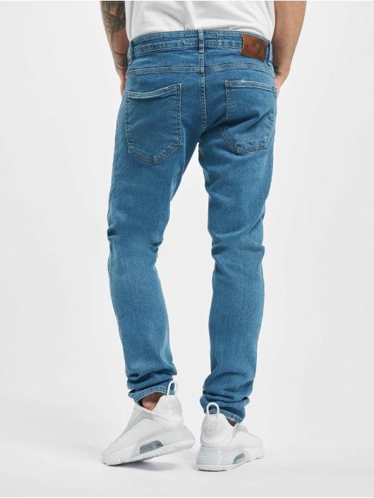 2Y Slim Fit -farkut Randy sininen