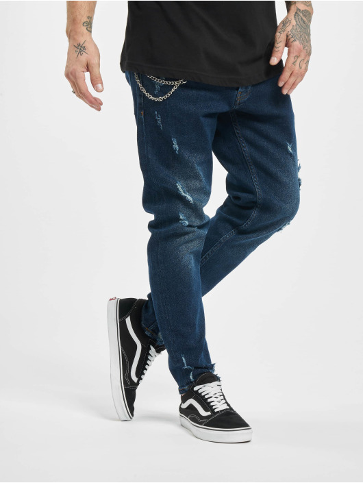 2Y Slim Fit -farkut Billy sininen