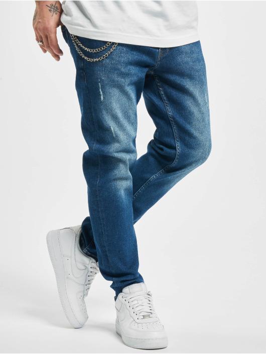 2Y Slim Fit -farkut Will sininen